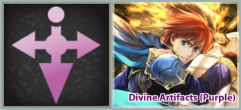 The Binding Blade and The Blazing Blade (Purple)